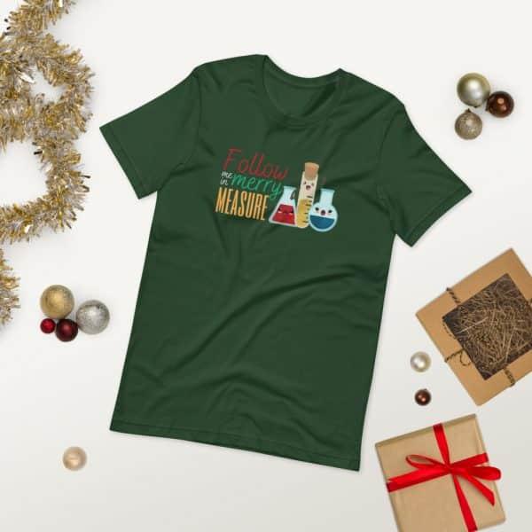 unisex staple t shirt forest front 2 610d75e37db93 600x600 - Follow Me in Merry Measure