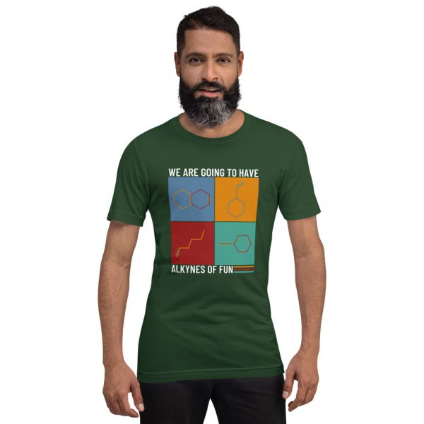 unisex staple t shirt forest front 610d78c429c2c 600x600 - Alkynes of Fun