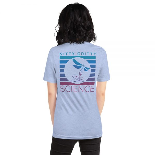 unisex staple t shirt heather blue back 610d65b235a6f 600x600 - NGS Circle Logo
