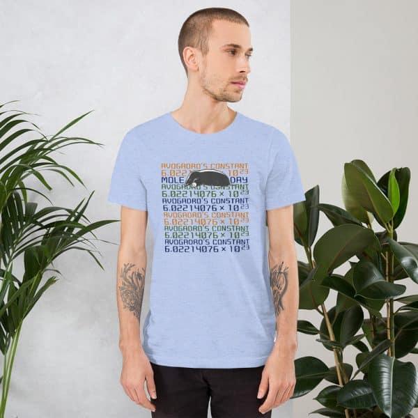 unisex staple t shirt heather blue front 610d6c7453f7a 600x600 - Mole Day