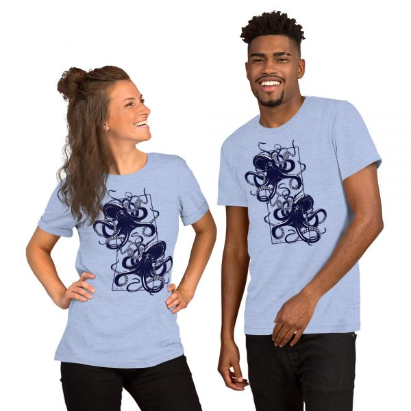 unisex staple t shirt heather blue front 610d7d9f1ebfd 600x600 - Octopus vulgaris
