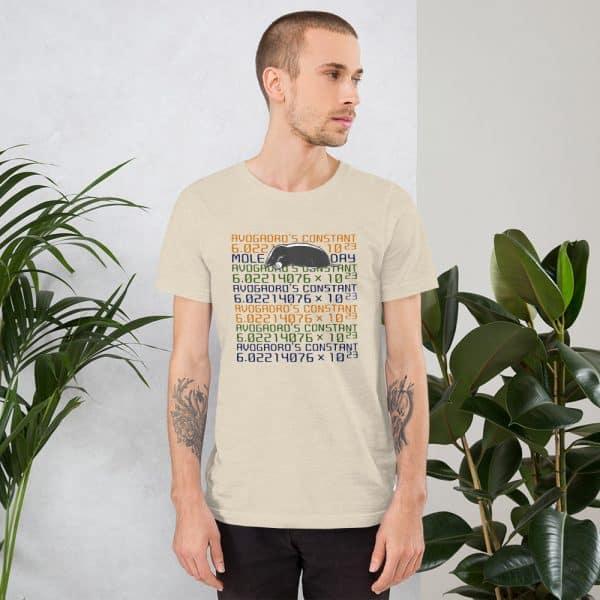 unisex staple t shirt heather dust front 610d6c7455e76 600x600 - Mole Day