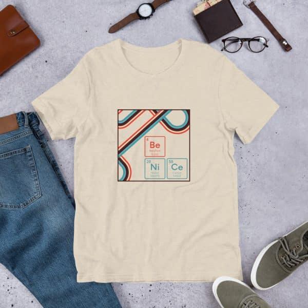 unisex staple t shirt heather dust front 610d9442e9f21 600x600 - Be NiCe