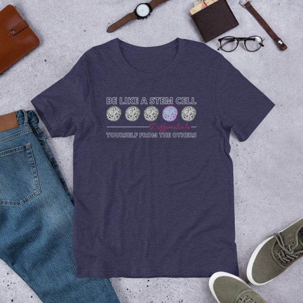 unisex staple t shirt heather midnight navy front 610d5ff57176e 600x600 - Be Like a Stem Cell
