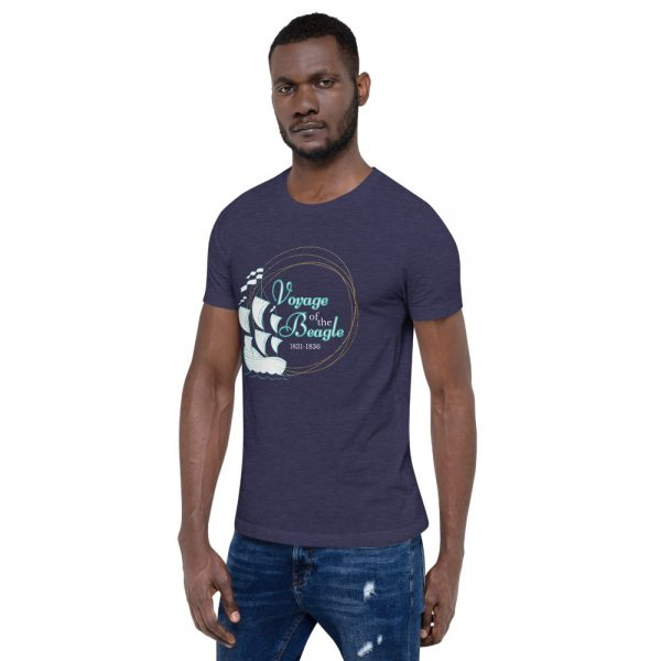 unisex staple t shirt heather midnight navy left front 610d88427ef0f 600x600 - Voyage of the Beagle