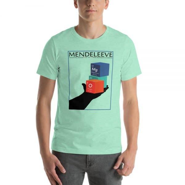 unisex staple t shirt heather mint front 610d8a442ca76 600x600 - Mendeleev