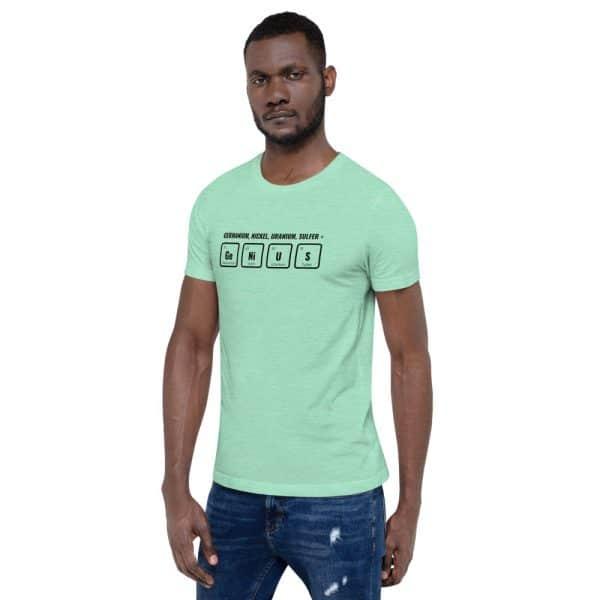 unisex staple t shirt heather mint left front 610d5ef54e90e 600x600 - GeNiUS