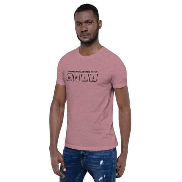 unisex staple t shirt heather orchid left front 610d5ef52d808 600x600 - GeNiUS