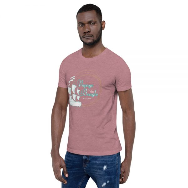 unisex staple t shirt heather orchid left front 610d88428efb9 600x600 - Voyage of the Beagle