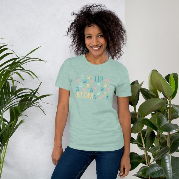 unisex staple t shirt heather prism dusty blue front 610d5d5a6e9ee 600x600 - Up and Atom
