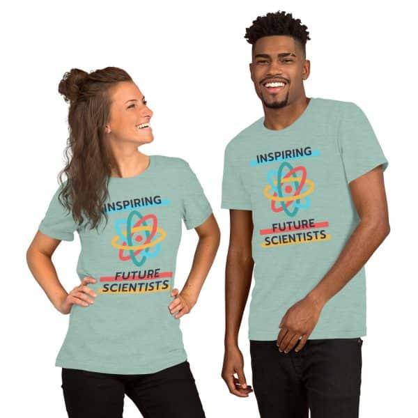 unisex staple t shirt heather prism dusty blue front 610d6960a1248 600x600 - Inspiring Future Scientists