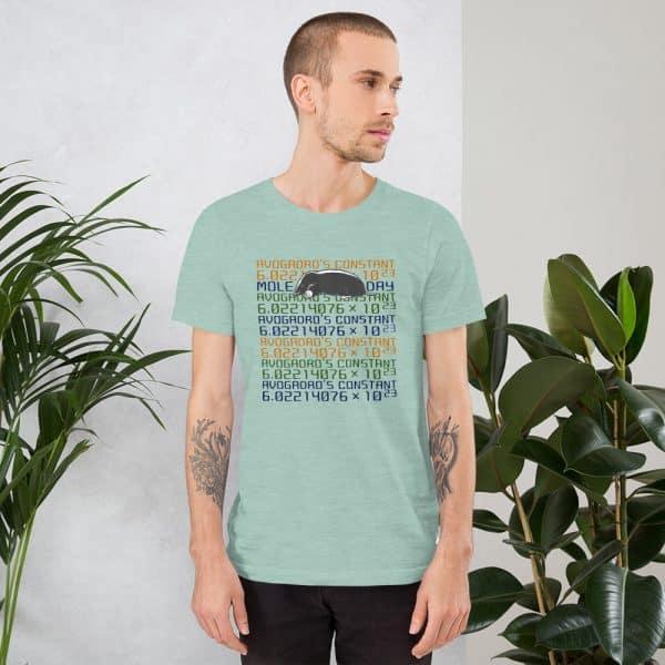 unisex staple t shirt heather prism dusty blue front 610d6c7453b95 600x600 - Mole Day