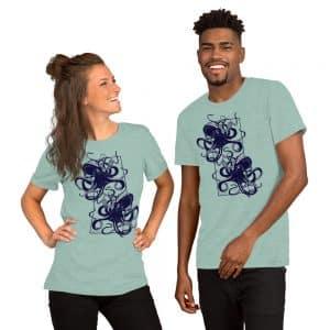 unisex staple t shirt heather prism dusty blue front 610d7d9ee9acc 300x300 - Octopus vulgaris