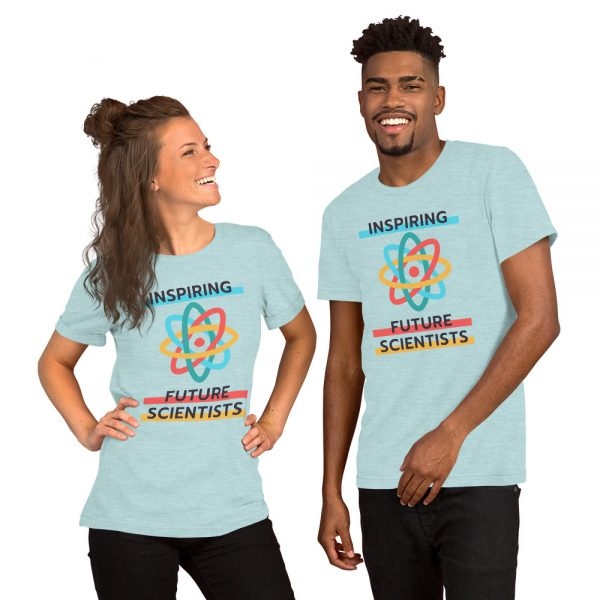 unisex staple t shirt heather prism ice blue front 610d6960a3afe 600x600 - Inspiring Future Scientists