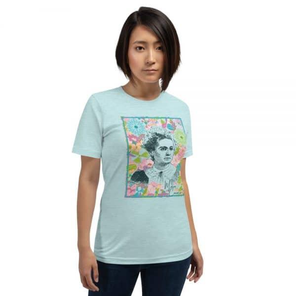 unisex staple t shirt heather prism ice blue front 610d78058762f 600x600 - Marie Curie