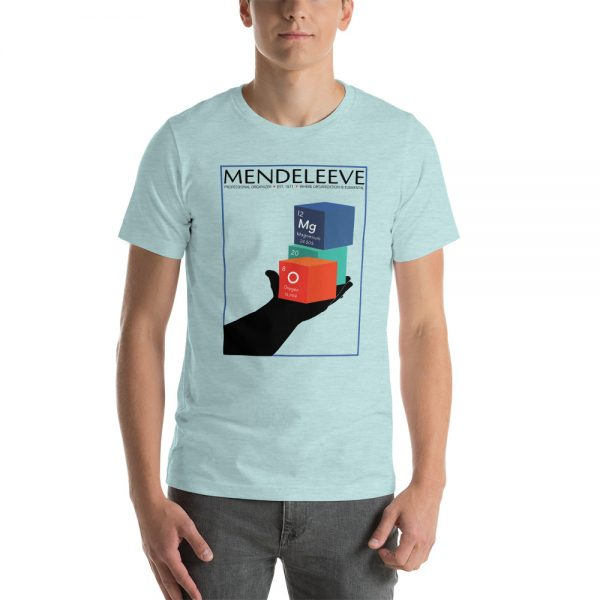 unisex staple t shirt heather prism ice blue front 610d8a442a942 600x600 - Mendeleev