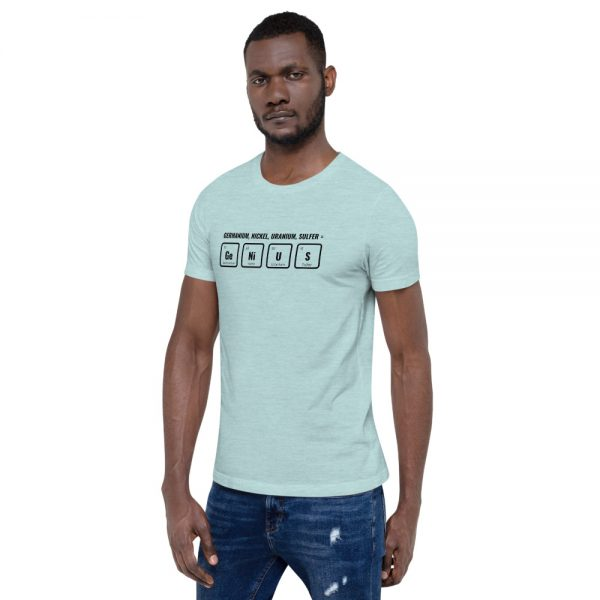 unisex staple t shirt heather prism ice blue left front 610d5ef54b087 600x600 - GeNiUS