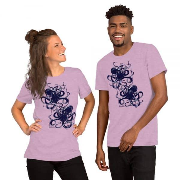 unisex staple t shirt heather prism lilac front 610d7d9f17473 600x600 - Octopus vulgaris