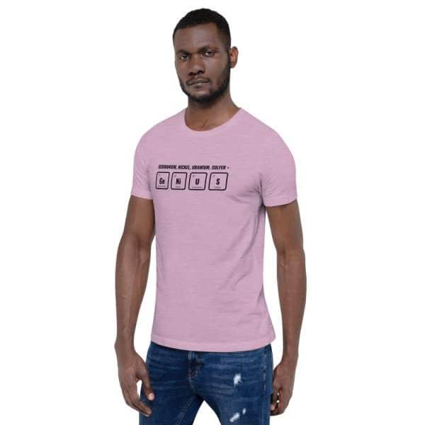 unisex staple t shirt heather prism lilac left front 610d5ef532a81 600x600 - GeNiUS