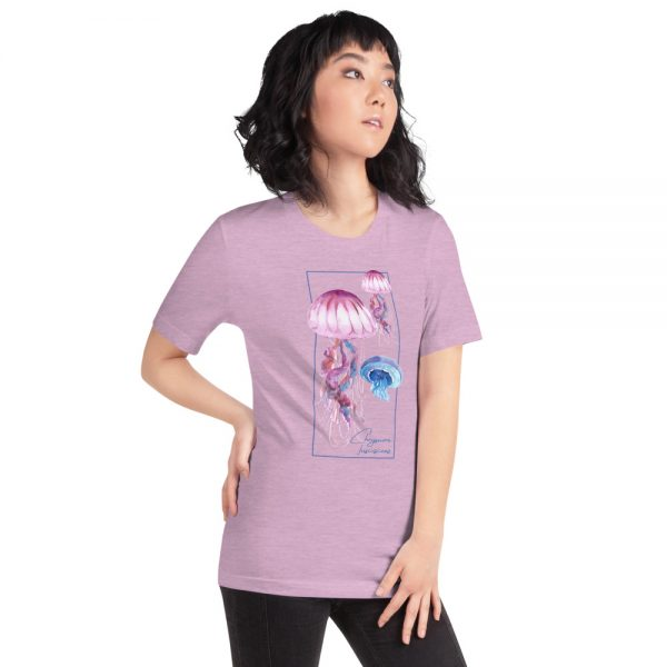 unisex staple t shirt heather prism lilac right front 610d7a6ca782a 600x600 - Jellyfish