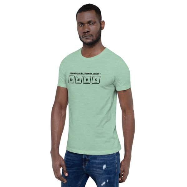 unisex staple t shirt heather prism mint left front 610d5ef53add9 600x600 - GeNiUS