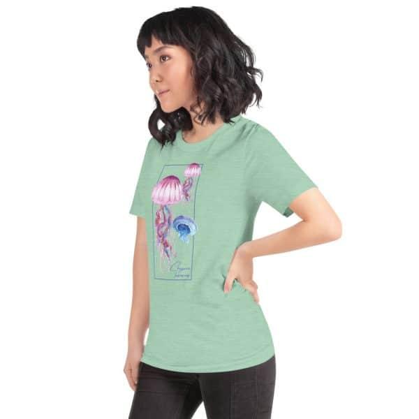 unisex staple t shirt heather prism mint left front 610d7a6cb144f 600x600 - Jellyfish