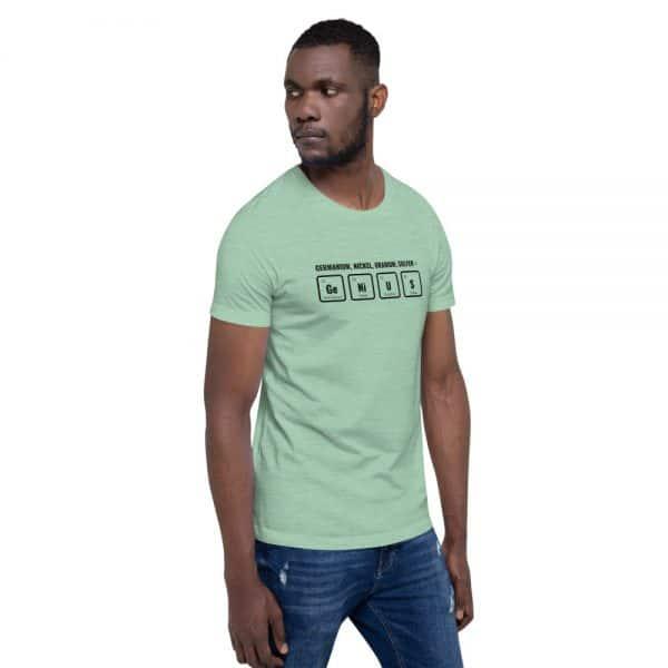 unisex staple t shirt heather prism mint right front 610d5ef53bb2e 600x600 - GeNiUS