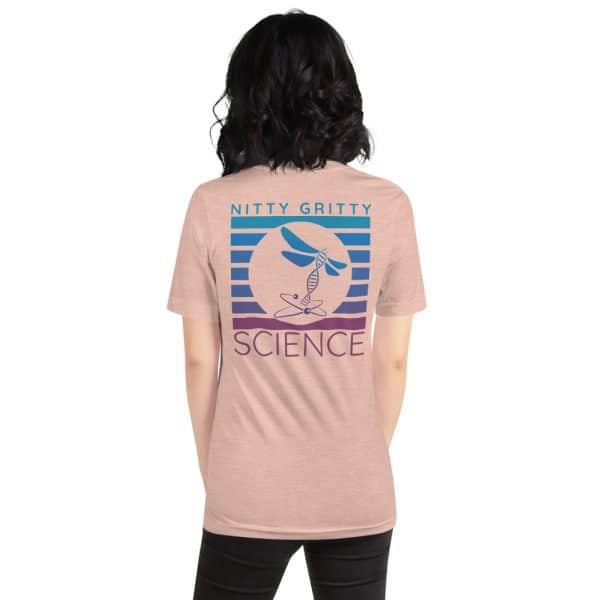 unisex staple t shirt heather prism peach back 610d65b237529 600x600 - NGS Circle Logo