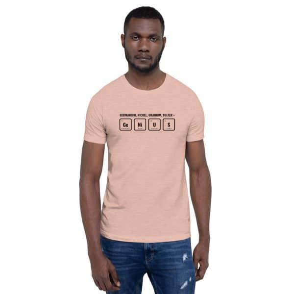 unisex staple t shirt heather prism peach front 610d5ef53f73a 600x600 - GeNiUS