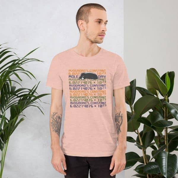 unisex staple t shirt heather prism peach front 610d6c74545fd 600x600 - Mole Day