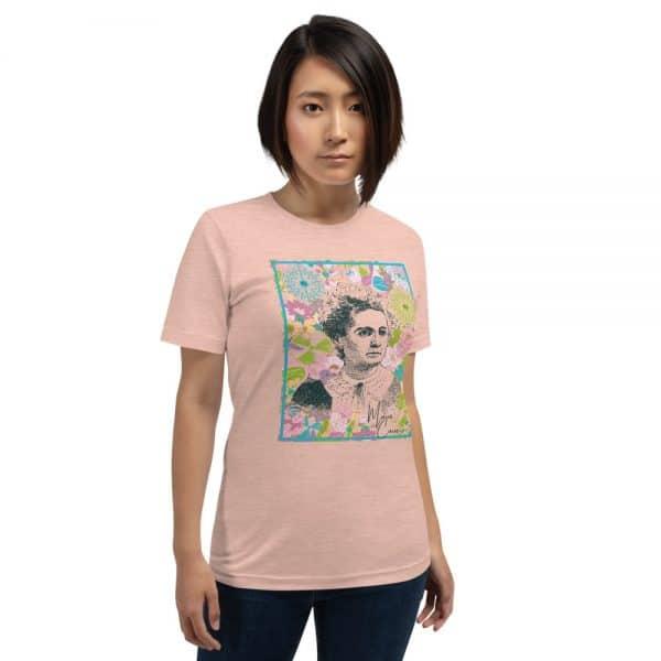 unisex staple t shirt heather prism peach front 610d780584721 600x600 - Marie Curie