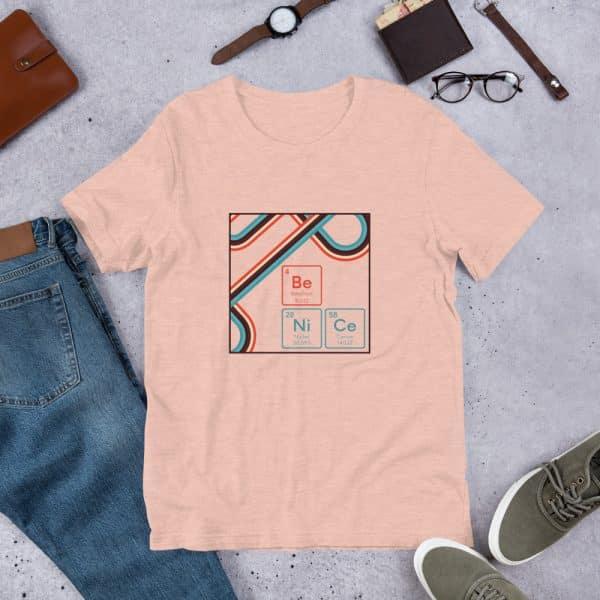 unisex staple t shirt heather prism peach front 610d9442e908d 600x600 - Be NiCe