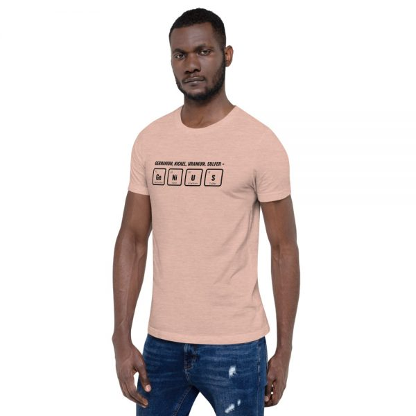 unisex staple t shirt heather prism peach left front 610d5ef540538 600x600 - GeNiUS
