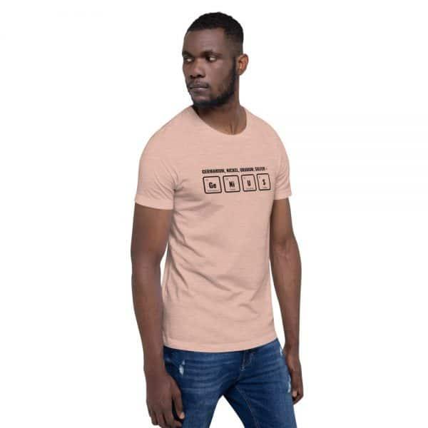 unisex staple t shirt heather prism peach right front 610d5ef54166c 600x600 - GeNiUS