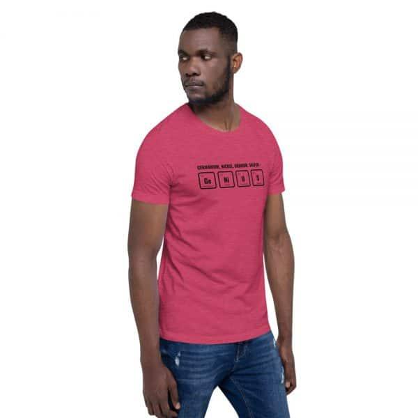 unisex staple t shirt heather raspberry right front 610d5ef529cae 600x600 - GeNiUS