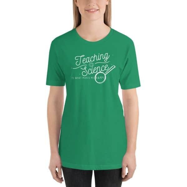 unisex staple t shirt kelly front 610d64b8d08d3 600x600 - Teaching Science Makes Me Happy