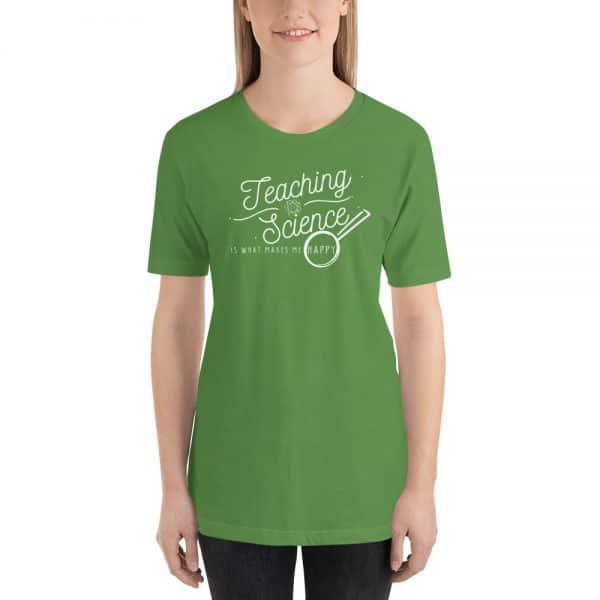 unisex staple t shirt leaf front 610d64b8daf3d 600x600 - Teaching Science Makes Me Happy