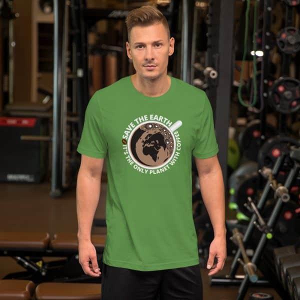 unisex staple t shirt leaf front 610d7e28a7018 600x600 - Save The Earth