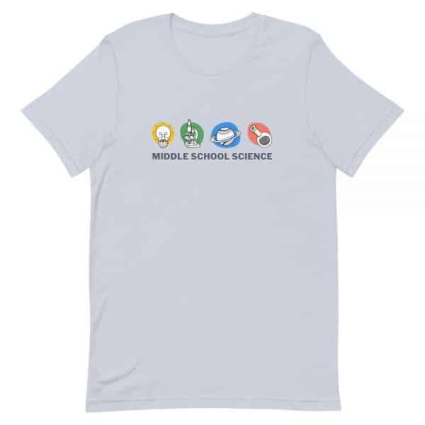 unisex staple t shirt light blue front 610d77a44d348 600x600 - Middle School Science Club Shirt