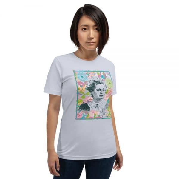 unisex staple t shirt light blue front 610d7805851de 600x600 - Marie Curie
