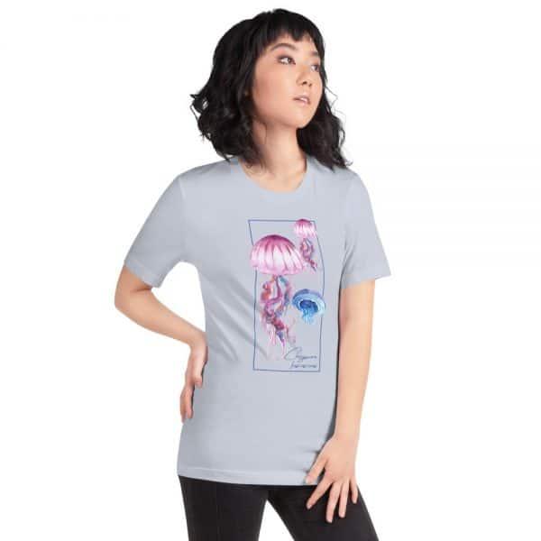 unisex staple t shirt light blue right front 610d7a6cc7034 600x600 - Jellyfish