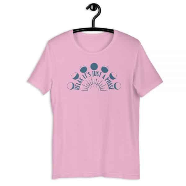 unisex staple t shirt lilac front 610d68893ec82 600x600 - Relax It's Just a Phase Sunburst