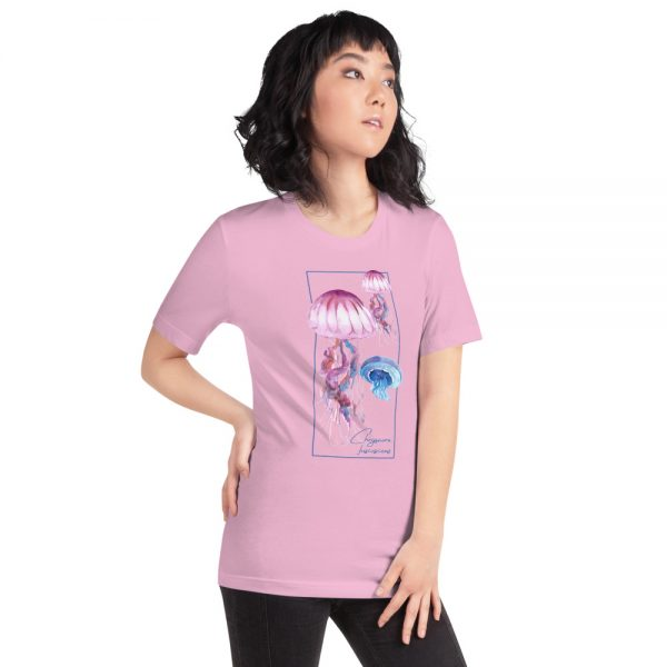 unisex staple t shirt lilac right front 610d7a6caea59 600x600 - Jellyfish