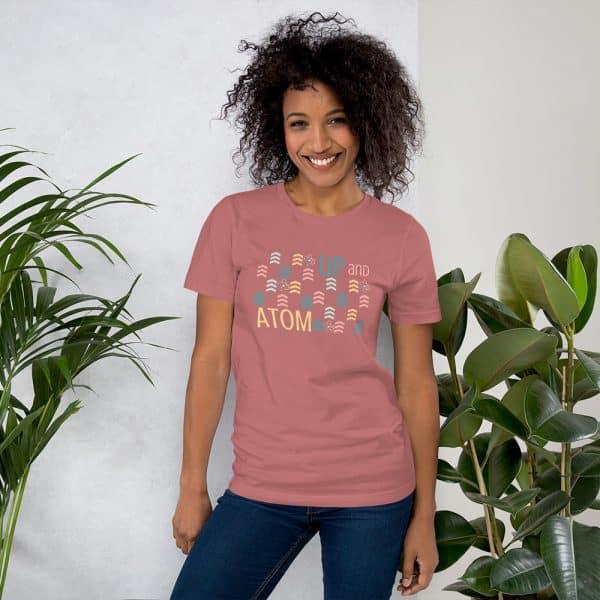unisex staple t shirt mauve front 610d5d5a6c3b4 600x600 - Up and Atom