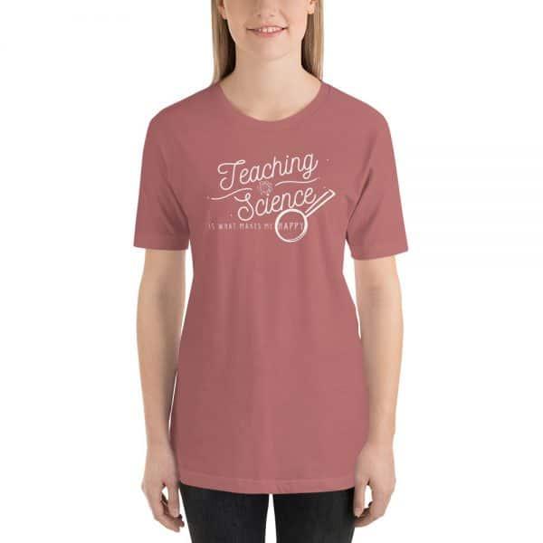 unisex staple t shirt mauve front 610d64b8d9efe 600x600 - Teaching Science Makes Me Happy