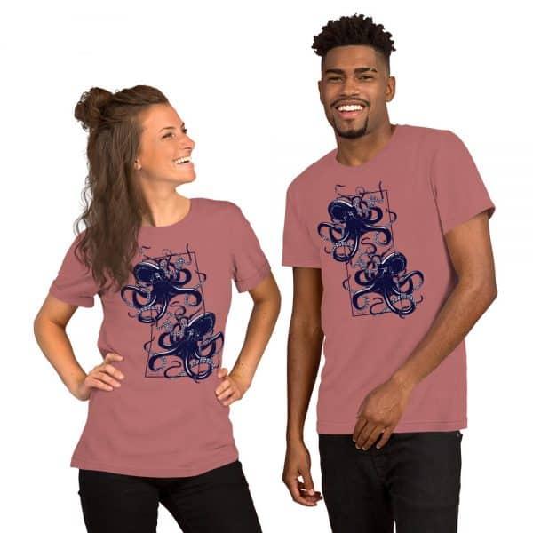 unisex staple t shirt mauve front 610d7d9ef0e5c 600x600 - Octopus vulgaris
