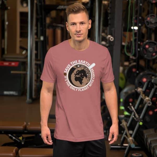 unisex staple t shirt mauve front 610d7e28a5f73 600x600 - Save The Earth
