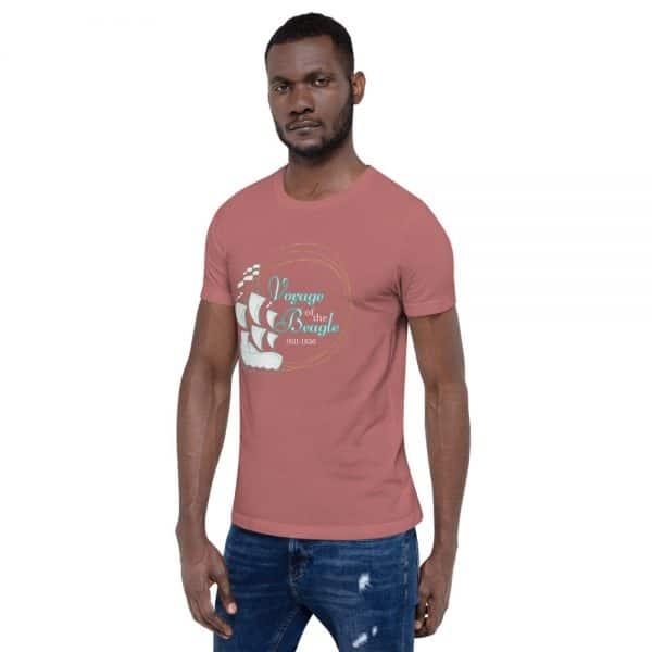 unisex staple t shirt mauve left front 610d884288f46 600x600 - Voyage of the Beagle
