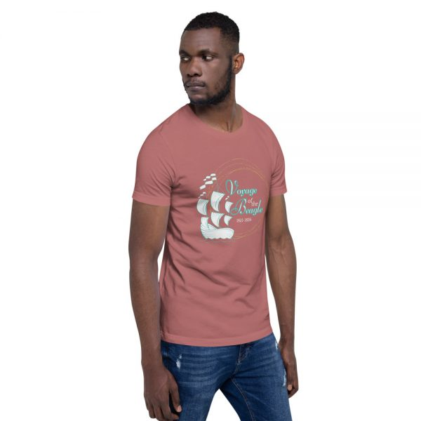 unisex staple t shirt mauve right front 610d884289de9 600x600 - Voyage of the Beagle