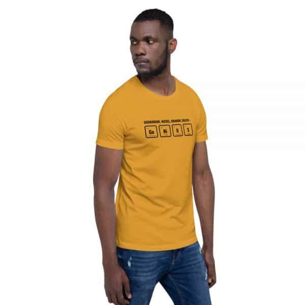 unisex staple t shirt mustard right front 610d5ef5311ed 600x600 - GeNiUS